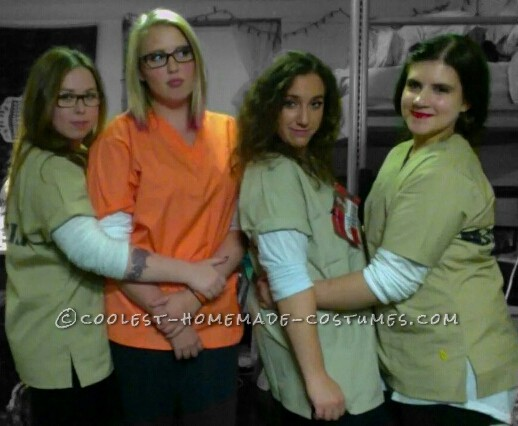 "Best ""Orange is the New Black"" Girl's Group Costume"
