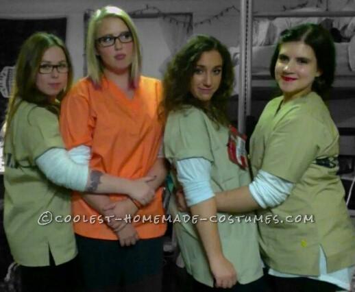 "Best ""Orange is the New Black"" Girl's Group Costume"