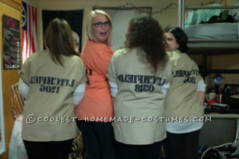 "Best ""Orange is the New Black"" Girl's Group Costume - 2"