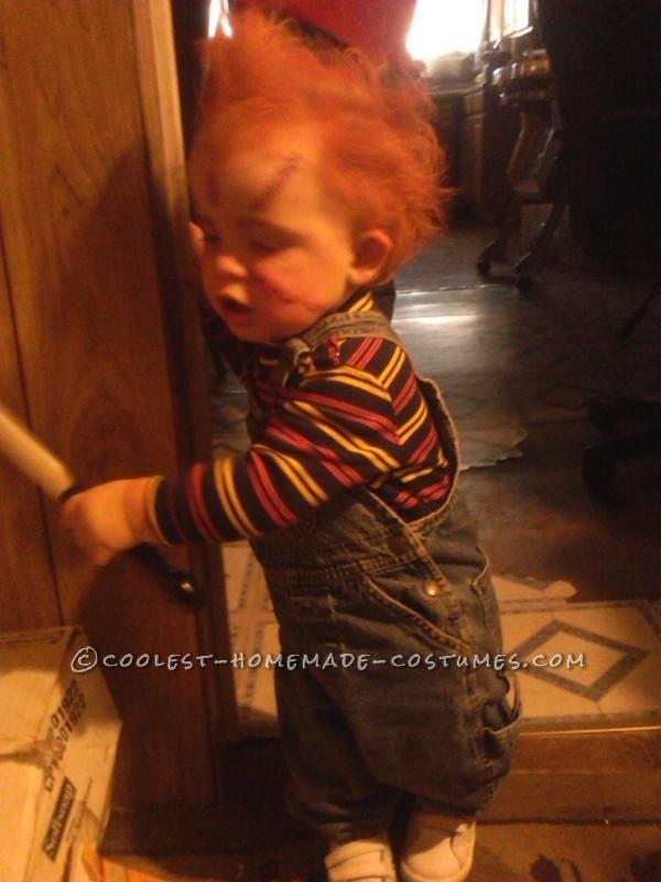 Creepy 1-Year-Old Chucky Costume - 1