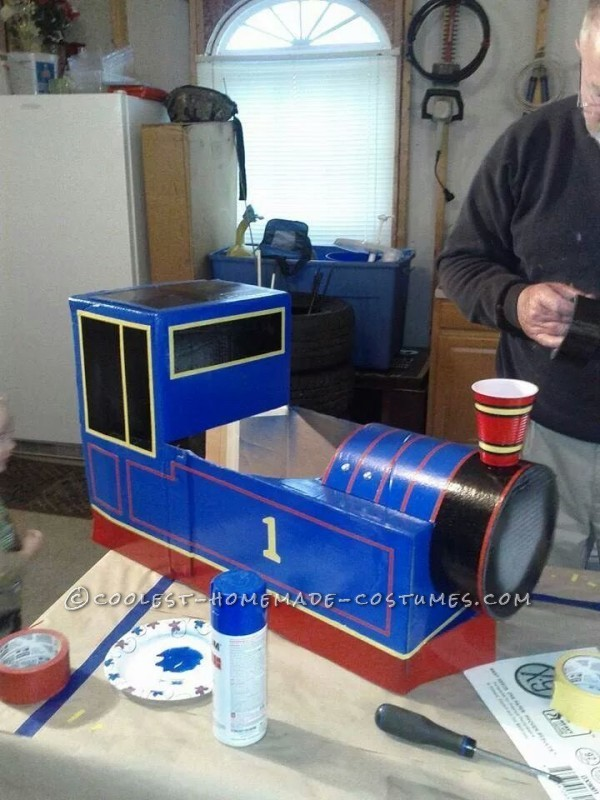 Best Thomas the Train Toddler Costume - 4