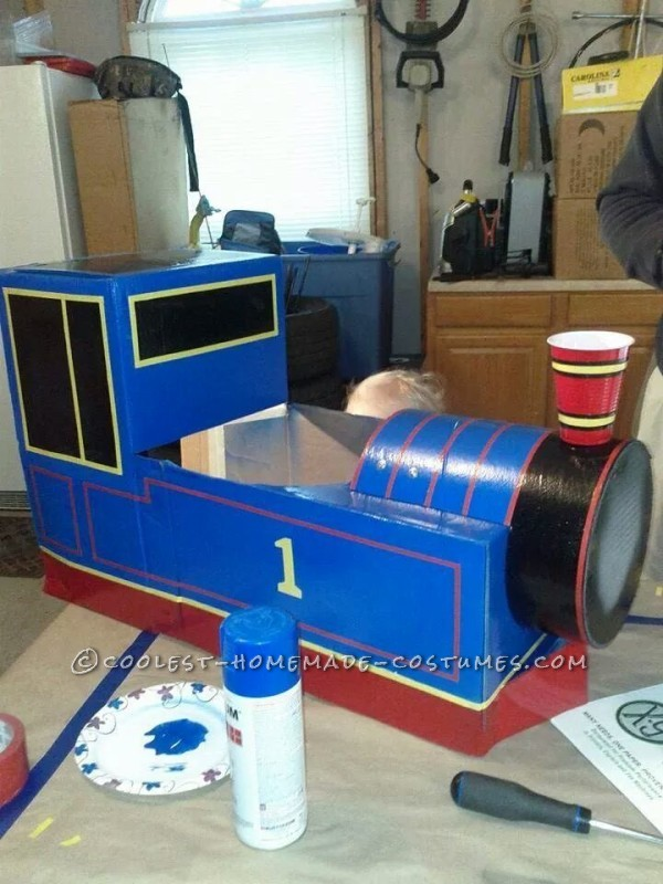 Best Thomas the Train Toddler Costume - 5