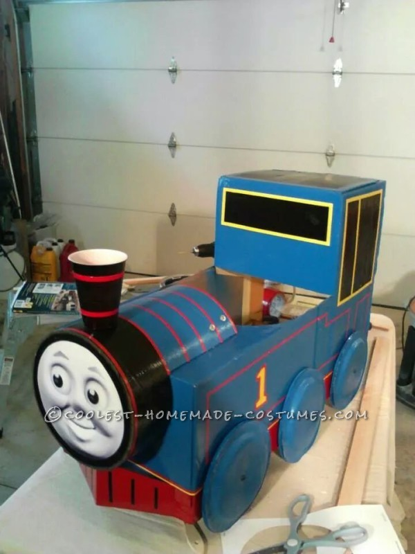 Best Thomas the Train Toddler Costume - 7