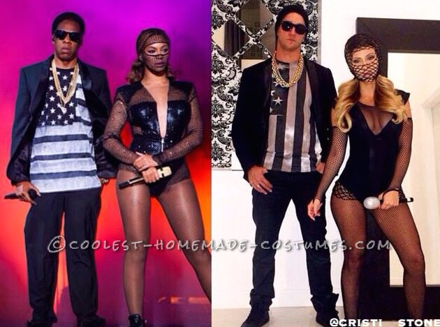 Cool Jay Z and Beyonce Couple Costume