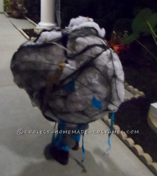 Storm Cloud and Lightning Victim Couple Costume
