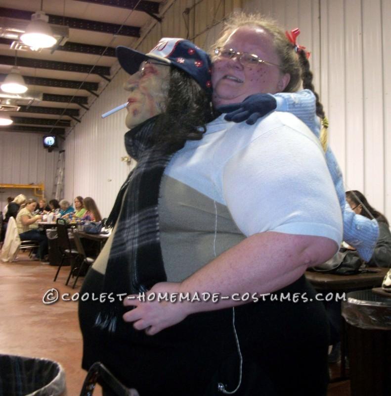Bingo Momma & her baby on her back!