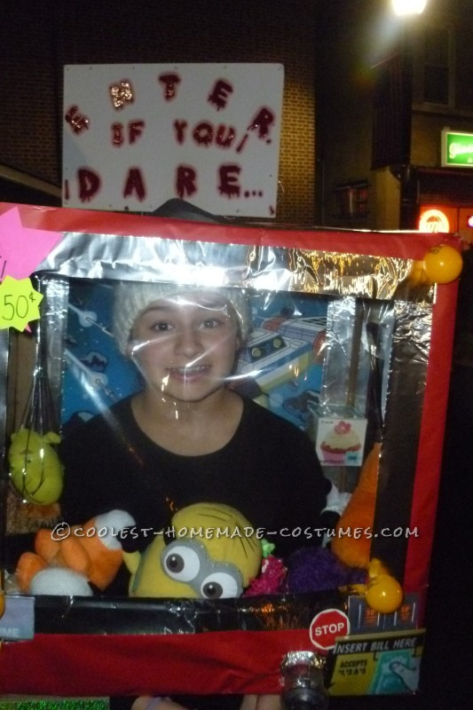 Cool Claw Machine DIY Costume