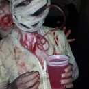 Bobble Head Silent Hill Nurse Costume - Entirely Homemade