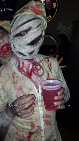Bobble Head Silent Hill Nurse Costume - Entirely Homemade