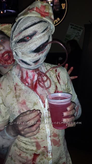 Silent Hill Bobble Head Nurse (Homemade) Costume!