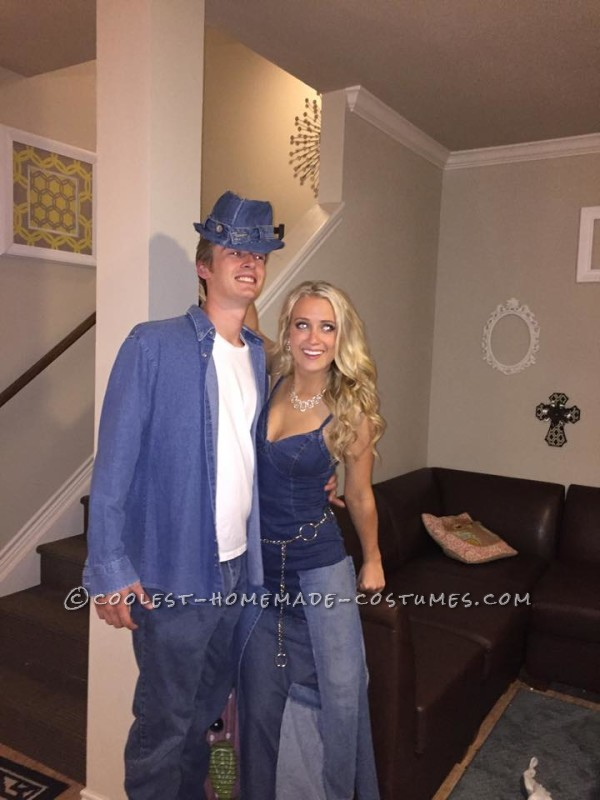 Sexy Britney Spears and Justin Timberlake Couples Costume