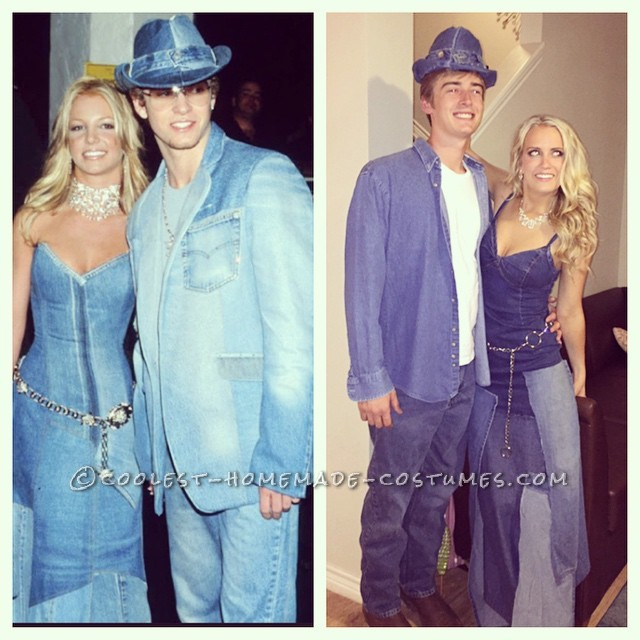 Coolest Homemade Britney Spears Costumes