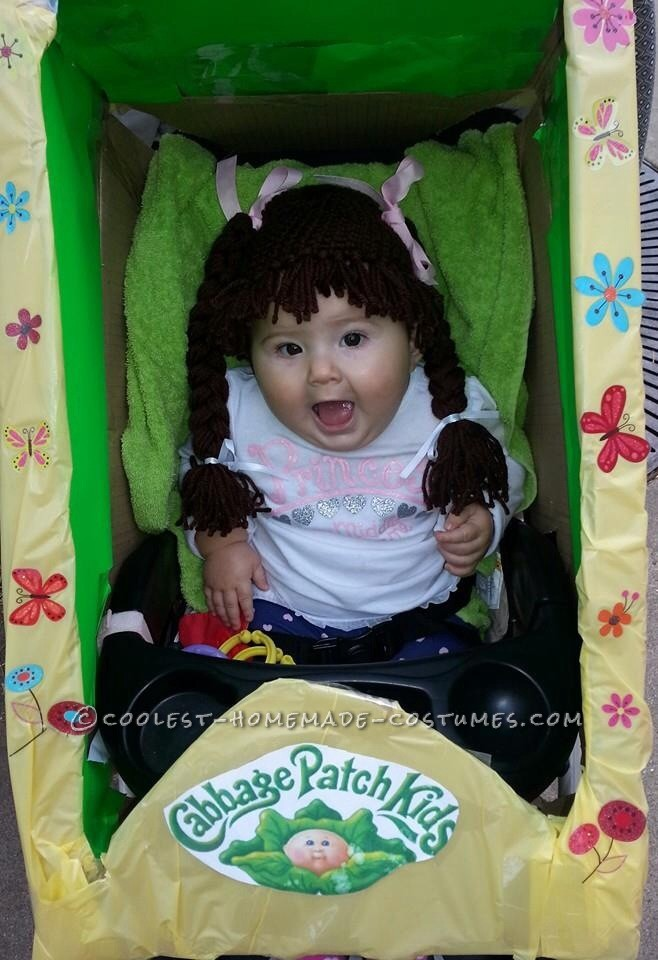 Cute Cabbage patch Baby Costume