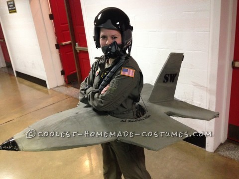Cadet Builds F-16 to prepare for Air Force Pilot Training