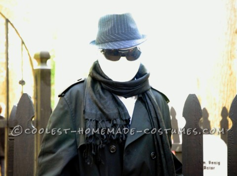Coolest Invisible Man Costume