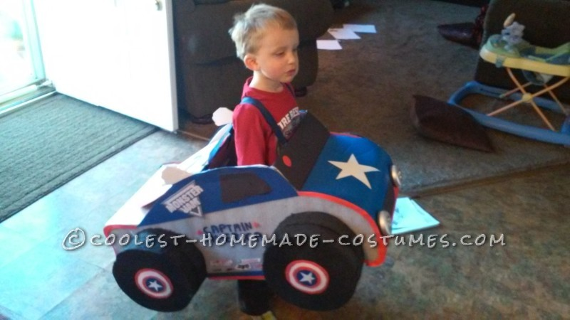 Captain America Monster Truck Costume