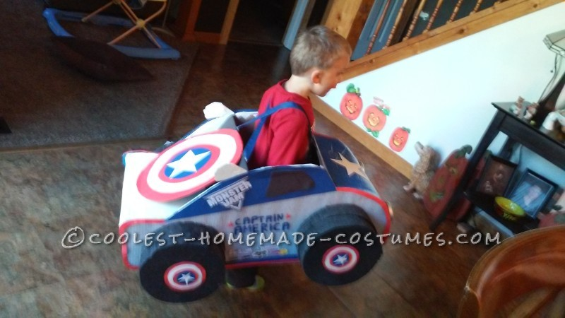 Captain America Monster Truck Costume - 1