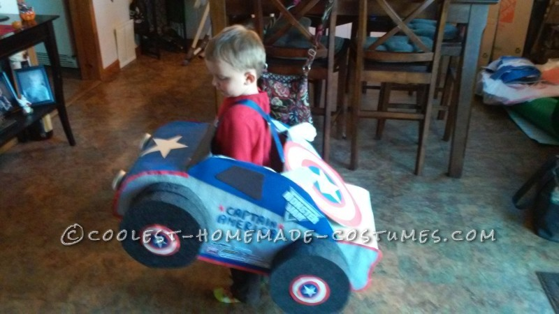 Captain America Monster Truck Costume