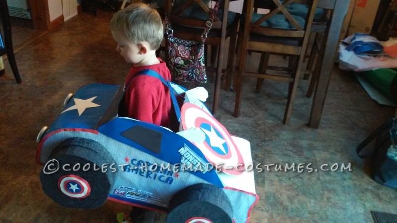 Captain America Monster Truck Costume - 3