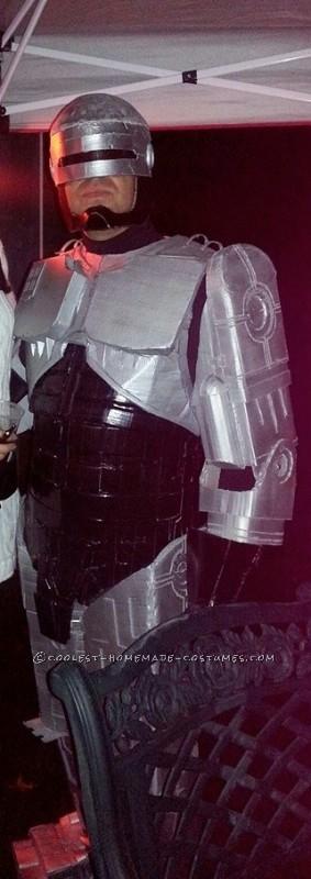 Cool Cardboard Robocop Costume