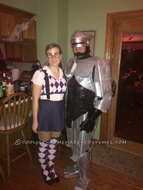 Cool Cardboard Robocop Costume - 1