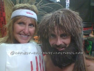 Castaway and Wilson DIY Couple Costume - 1