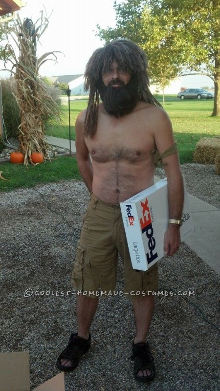 Castaway and Wilson DIY Couple Costume - 2