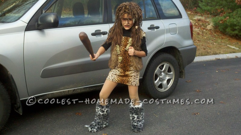 Cave Girl Costume – Won 1st Place… Twice! - 2