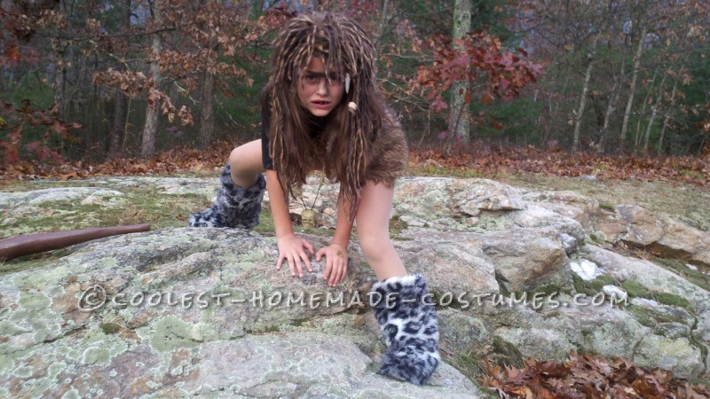 Cave Girl Costume – Won 1st Place… Twice!