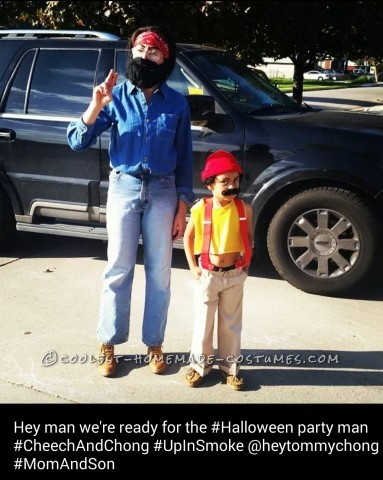 Epic Mom and Son Costume: Cheech and Chong