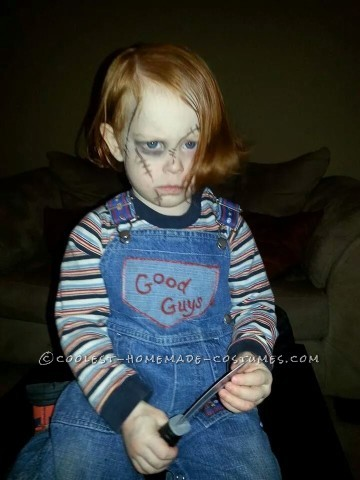 Scary Chuckie Doll Costume for My Ginger Son