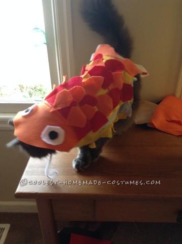 """Funny """"Cat""""fish Costume"""