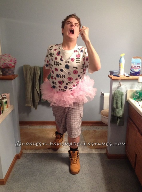 Cleverly Disguised Mental Patient Ace Ventura Costume