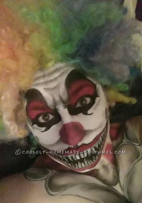 Creepy Clown Makeup Costume - 1