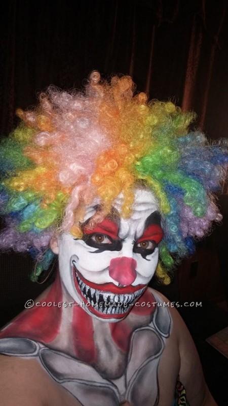 Creepy Clown Makeup Costume - 3