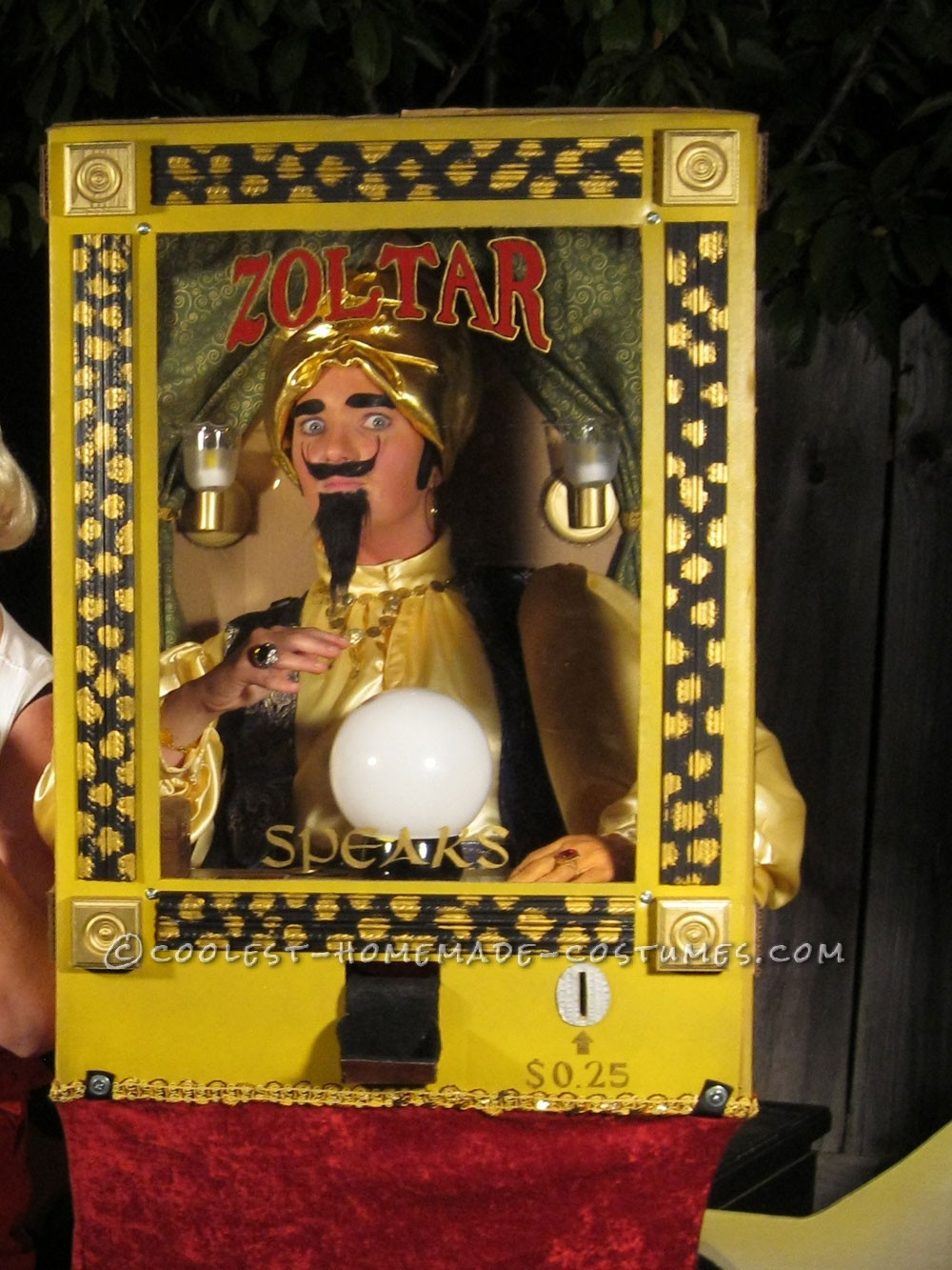 The Fortune Teller: Cool Zoltar The Fortune Telling Machine Costume