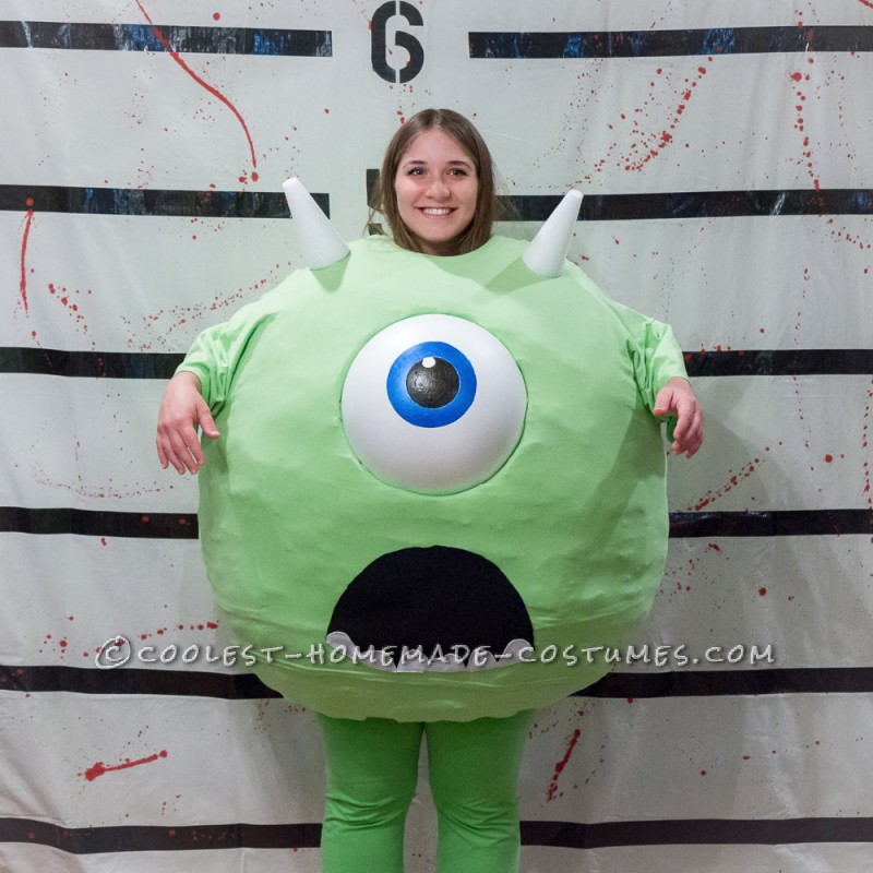 Coolest Homemade Mike Wazowski, Sully, and Boo Family Costumes - 2