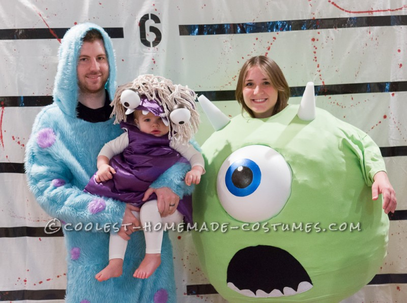 2f8afb8e45ac Coolest Homemade Mike Wazowski