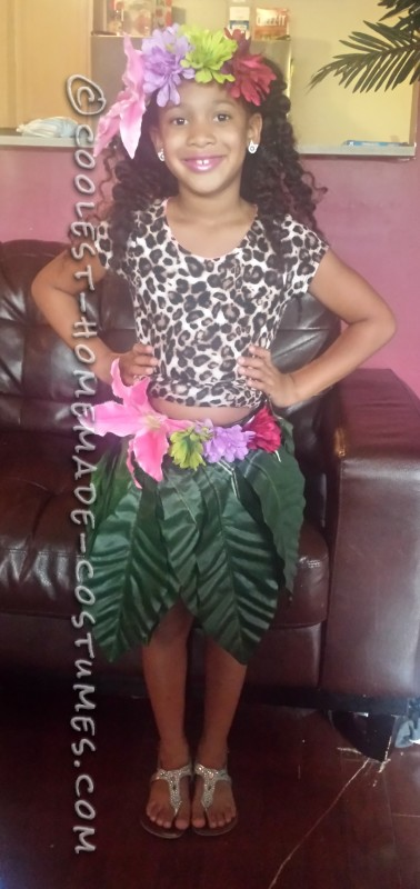 Cool Homemade Katy Perry Costume for a Girl