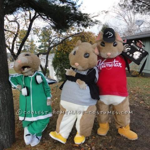 Coolest Kia Ganster Hamster Group Costume