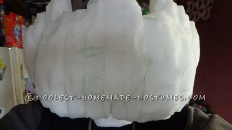 The layered foam