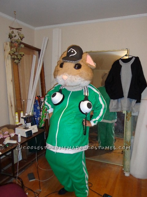 Kia Hamster Commercial >> Coolest Kia Ganster Hamster Group Costume