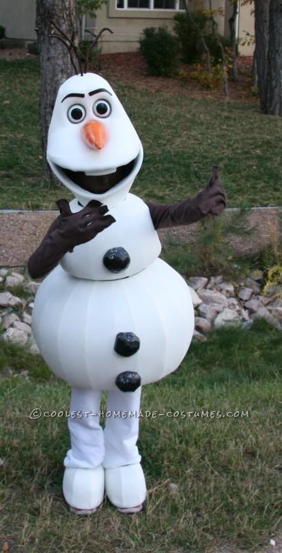 Coolest Olaf Who Likes Warm Hugs Costume