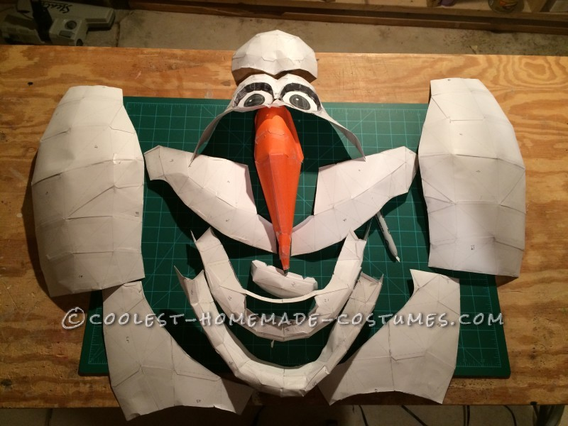 Head Templates - Poor Olaf :(