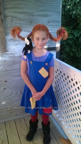 Coolest Pipi Longstocking Costume Ever