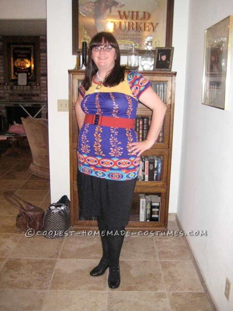 Cool Homemade Costume for Women: Ugly Betty