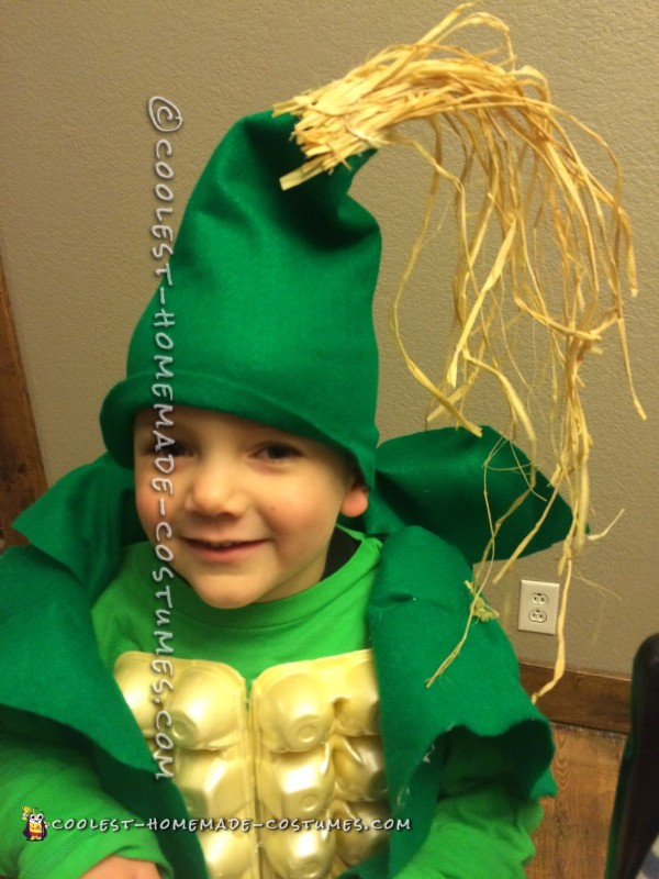 Corny Costume for a Kid