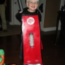 Cutest Little Dirt Devill Vacuum Costume for a Boy