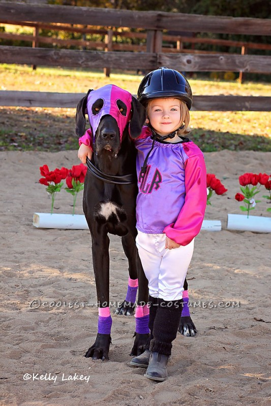 Cutest Race Horse and Jockey Duo Costume Ever! - 3