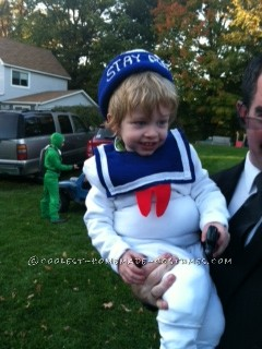 Cutest Stay Puft Marshmallow Boy Costume